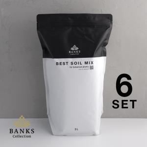 ベストソイルミックス 3リットル 5個セット Best Soil Mix 3L  園芸用土 観葉植物用土