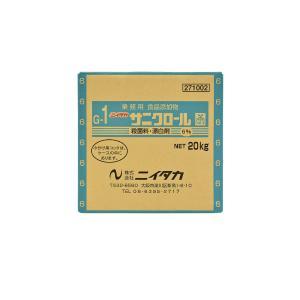 サニクロール G-1 6% BIB 20kg ニイタカ 漂白剤 殺菌料 お掃除 banner-one