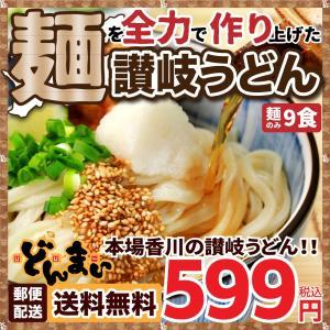 讃岐うどん うどん 讃岐生うどん 麺300g×3袋  9食 ...