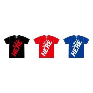 【HERE】LOGO Tシャツ モコモコver.|banzai