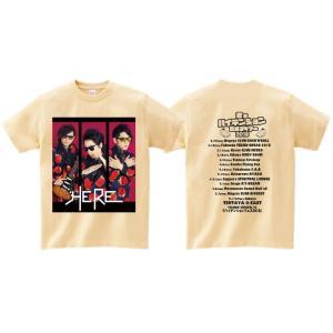 【HERE】「君をハイテンションにするツアー2018」ツアーTシャツ|banzai|02