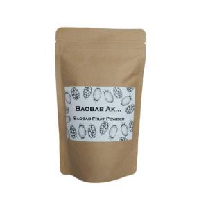 バオバブパウダー100g オーガニック/天然食物繊維、ビタミンC、カルシウム、ポリフェノール/水溶性...
