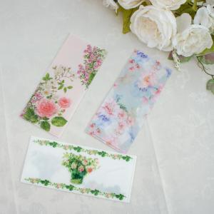 ローズチケットフォルダー チケットファイル Fujicoローズ ローズコレクション ボタニカル 日本製  薔薇 おしゃれ|barazakkawithheart