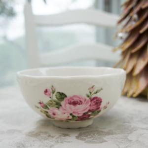 アニバーサリーローズ 茶碗 barazakkawithheart
