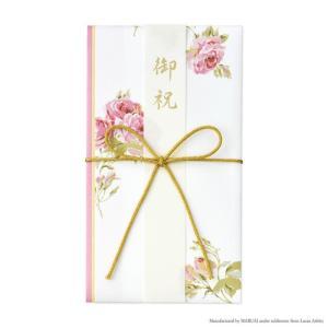 ご祝儀袋 LAURA ASHLEY ローラ アシュレイ 御祝金封 クチュールローズ 日本製 洋風 花柄 おしゃれ 薔薇 お祝 御出産御祝|barazakkawithheart