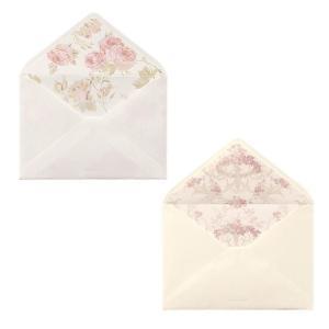LAURA ASHLEY ローラ アシュレイ 洋2封筒 クチュールローズ 日本製 封筒 花柄 おしゃ...