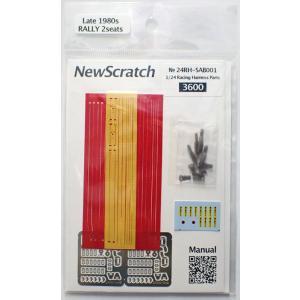 1/24 ラリーカー '80Late対応 シートベルトセット【NewScratch 24rh-sab001】|barchetta