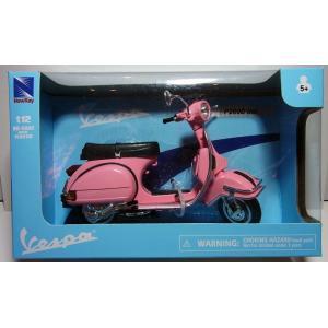 完成品:1/12 ベスパ P200E 1978 ピンク【アオシマ スカイネット】 barchetta