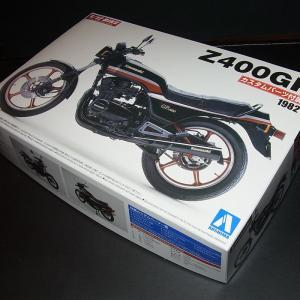 1/12 カワサキ Z400GP カスタムパーツ付き【アオシマ 1/12 バイク No.51】 barchetta