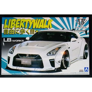 1/24 ワークス R35 GT-R type 1.5【アオシマ リバティーウォーク No.11】|barchetta