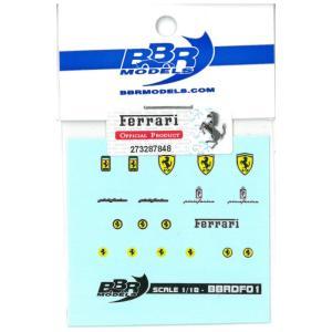 BBR 1/18 フェラーリエンブレム デカール【BBRDF01】|barchetta