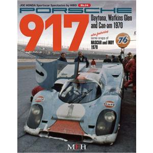 PORSCHE 917 1970 Daytona.Watkins.Glen and Can-am  JOE HONDA Sportscar Spectacles NO4【MFH BOOK】|barchetta