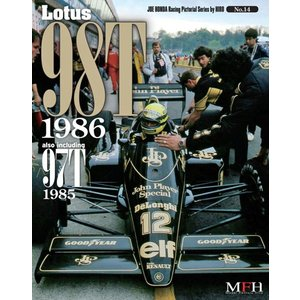 LOTUS 98T 1986 aiso including 97T 1985 Joe HONDA Racing Pictorial Series by HIRO NO14【MFH BOOK】|barchetta