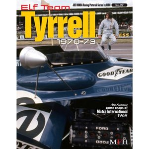 NO27. Elf Team Tyrrell 1970-73 HONDA Racing Pictorial Series by HIRO NO27【MFH BOOK メール便送料無料】