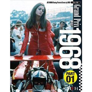 No.38 : Grand Prix 1968 (PART01)  JOE HONDA Racing Pictorial Series by HIRO【MFH BOOK】|barchetta
