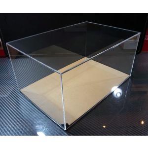 アクリル製 ディスプレイケース【外寸:幅310mm・奥行210mm・高さ115mm】|barchetta