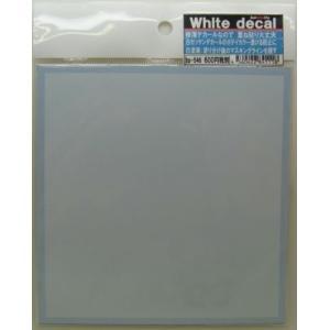 (白デカール) 重ね貼りができる極薄デカール  サイズ130×132