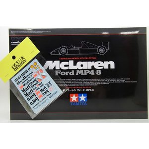 【バルケッタセット】タミヤ 1/20 McLaren Ford MP4/8 & タバコデカール【スケール限定商品】|barchetta