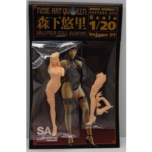 NOSE ART QUEEN 森下悠里【ブリックワークス 1/20 Girls From SCALE AVIATION】|barchetta