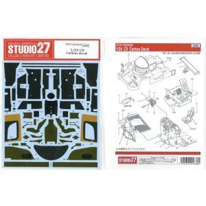 1/24 C9カーボンデカール(T社1/24対応)【スタジオ27】|barchetta