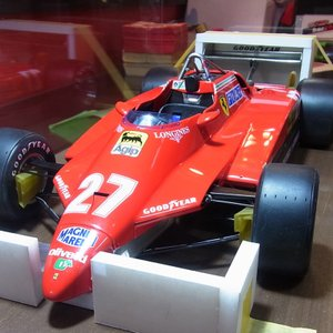 1/12 フェラーリ126C2 フルディテール【完成品ケース付モデル 配送可能】|barchetta