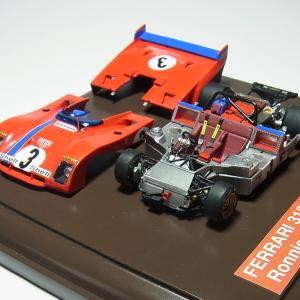 1/43 フェラーリ 312PB 1972 Nurburging フルディテール【完成品ケース付モデル 配送可能】|barchetta