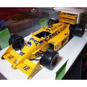 1/12 ロータス99T 1987年日本GP セナ仕様【完成品ケース付モデル 配送可能】|barchetta