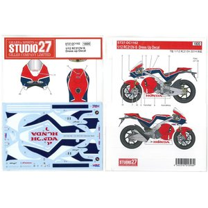 1/12 RC213V-S Dress up Decal (T社1/12 RC213V 2014対応)|barchetta