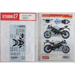 """1/12 ヤマハ YZF-R1M """"TECH21""""ドレスアップデカール(T社YZF-R1M対応)【ス..."""