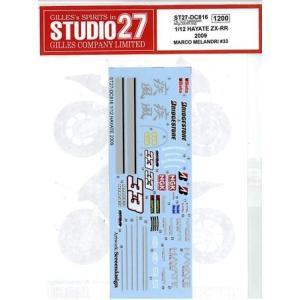 HAYATE ZX-RR 2009 MARCO MELANDRI #33 T社 1/12KAWASAKI NinjaZX-RR対応|barchetta