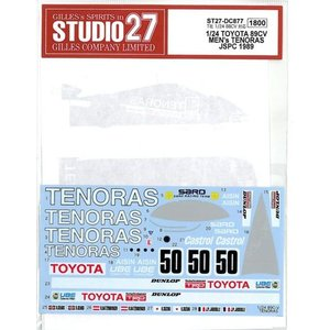 1/24 TOYOTA 89CV MENs TENORAS JSPC 1989 (T社1/24 88CV対応)|barchetta