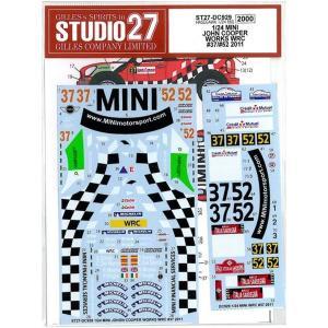 1/24 MINI JOHN COOPER WORKS WRC #37#52 2011 (H社1/24対応)|barchetta