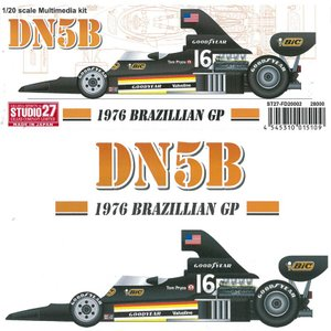 DN5B 1976 BRAZILLIAN GP【スタジオ27 1/20 FD20002】 barchetta