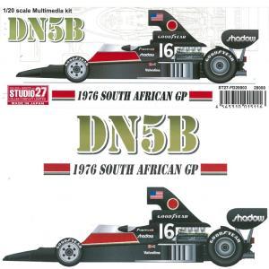 DN5B 1976 SOUTH AFRICAN GP【スタジオ27 1/20 FD20003】 barchetta