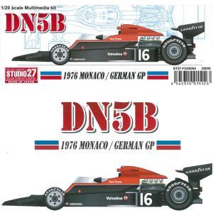 DN5B 1976 MONACO/GERMAN GP【スタジオ27 1/20 FD20004】 barchetta