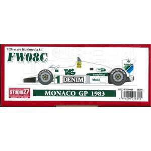 FW08C MONACO GP 1983【スタジオ27 1/20 FD20005】 barchetta