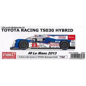 TOYOTA RACING TS030 HYBRID barchetta