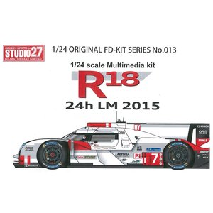 R18 24h 2015 1/24 Multimedia kit|barchetta