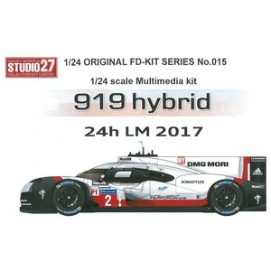 919hybrid 24h LM 2017 1/24scale multimedia kit|barchetta