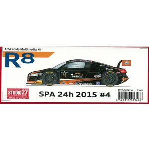 R8 SPA 24h 2015 #5 1/24 Multimedia kit|barchetta
