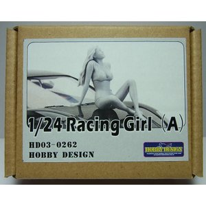 1/24 レーシングガールフィギュア(A)【ホビーデザイン HD03-0262】|barchetta