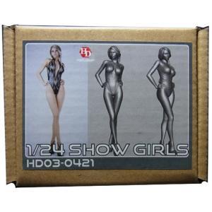 1/24 ショーガールA【ホビーデザイン】Show Girls(A)フィギュア|barchetta
