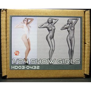 1/24 ショーガールフィギュア(D)【ホビーデザイン】Show Girls(D)Hobbydesign |barchetta