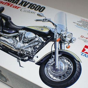 1/12 ヤマハ XV1600 ロードスター カスタム【タミヤ オートバイシリーズ No.135 I...
