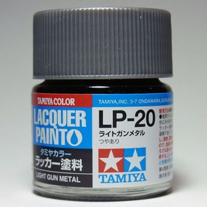 LP-20 ライトガンメタル【タミヤカラー ラッカー塗料】|barchetta