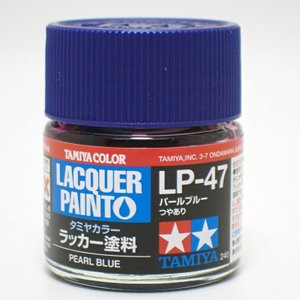 LP-47 パールブルー【タミヤカラー ラッカー塗料 item82147】 barchetta