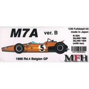M7A Ver.B 1968 Rd.4 Belgian GP【1/20 K-324 Full detail kit】|barchetta