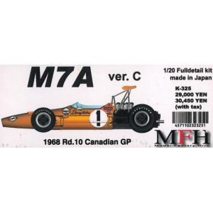 M7A Ver.C 1968 Rd.10 Canadian GP【1/20 K-325 Full detail kit】|barchetta