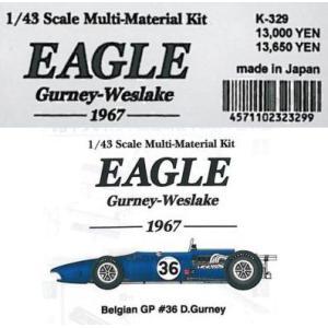 EAGLE Gu rney-Weslake -1967-【1/43 K-329Multi-Material kit】|barchetta