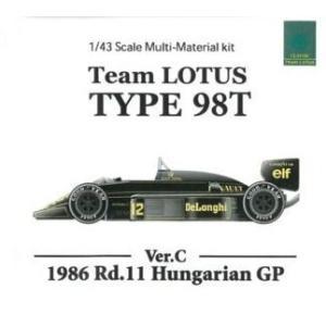 LOTUS TYPE98T Hungarian GP【MFH 1/43 k454】|barchetta